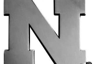 FanMats® University of Nebraska Chrome Emblem