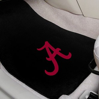 FanMats® - University of Alabama Logo on Embroidered Floor Mats