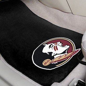 FanMats® - Florida State University Logo on Embroidered Floor Mats