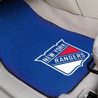 FanMats® - Blue Carpet Mats with New York Rangers Logo