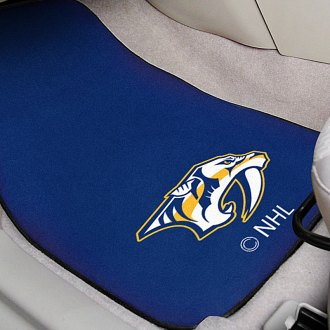 FanMats® - Blue Carpet Mats with Nashville Predators Logo