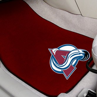 FanMats® - Red Carpet Mats with Colorado Avalanche Logo