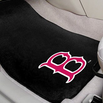 FanMats® - Boston Red Sox Logo on Embroidered Floor Mats