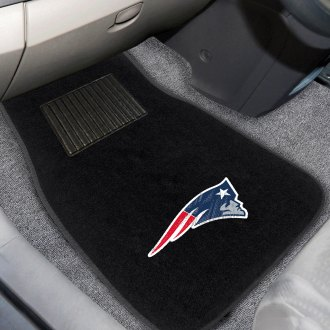 FanMats® - New England Patriots Logo on Embroidered Floor Mats
