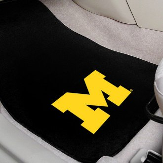FanMats® - University of Michigan Logo on Embroidered Floor Mats