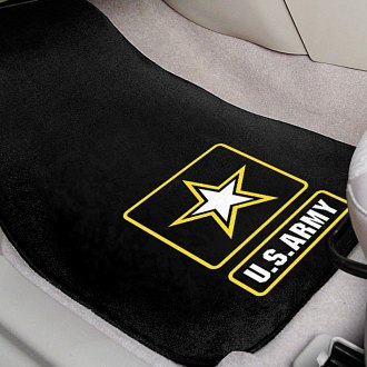 FanMats® - Universal Fit Carpet Car Military Mats (Military)