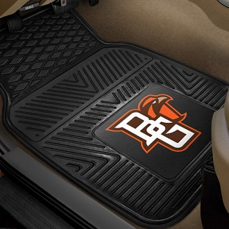 FanMats® - 1st Row Collegiate Heavy Duty Vinyl Car Mats with Bowling Green State University Logo