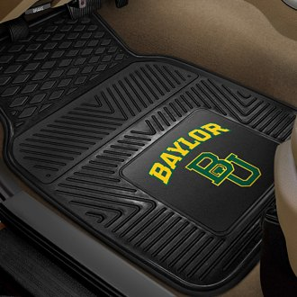 FanMats® - 1st Row Collegiate Heavy Duty Vinyl Car Mats with Baylor University Logo