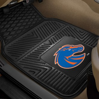 FanMats® - 1st Row Collegiate Heavy Duty Vinyl Car Mats with Boise State University Logo