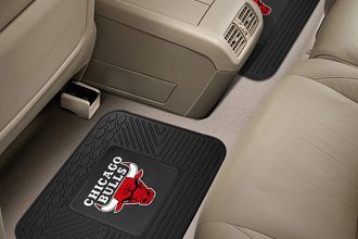 FanMats® 12366 - Chicago Bulls Logo on Heavy Duty Vinyl Mats