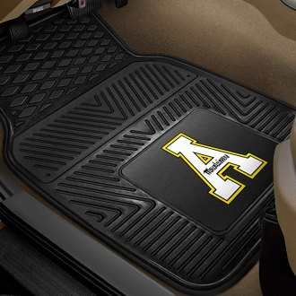 FanMats® - 1st Row Collegiate Heavy Duty Vinyl Car Mats with Appalachian State Logo
