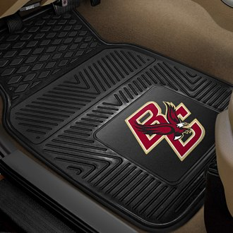 FanMats® - 1st Row Collegiate Heavy Duty Vinyl Car Mats with Boston College Logo