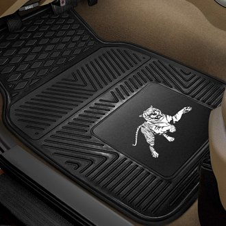 FanMats® - 1st Row Collegiate Heavy Duty Vinyl Car Mats with Jackson State University Logo