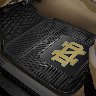 FanMats® - Universal Fit Heavy Duty Vinyl Mats (College, Indiana, Notre Dame)