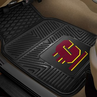 FanMats® - 1st Row Collegiate Heavy Duty Vinyl Car Mats with Central Michigan University Logo
