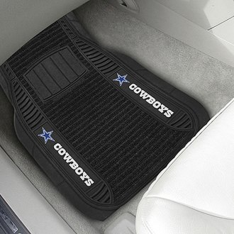 FanMats® - 1st Row Deluxe Vinyl Car Mats with Dallas Cowboys Logo