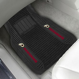 FanMats® - Universal Deluxe Vinyl Car 1st Row Mats (Sports, NFL, Washington Redskins)