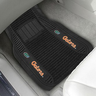 FanMats® - 1st Row Deluxe Vinyl Car Mats with University of Florida Logo