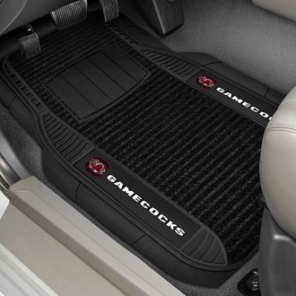 FanMats® - Universal Deluxe Vinyl Car 1st Row Mats (College, South Carolina, University of South Carolina)