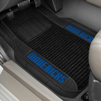 FanMats® - 1st Row Deluxe Vinyl Car Mats with Dallas Mavericks Logo