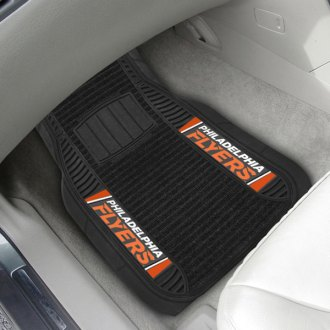 FanMats® - 1st Row Deluxe Vinyl Car Mats with Philadelphia Flyers Logo