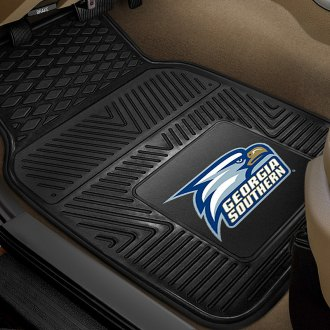 FanMats® - 1st Row Collegiate Heavy Duty Vinyl Car Mats with Georgia Southern University Logo