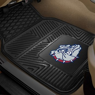 FanMats® - 1st Row Collegiate Heavy Duty Vinyl Car Mats with Gonzaga University Logo
