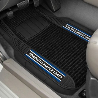 FanMats® - Universal Deluxe Vinyl Car 1st Row Mats (Sports, NHL, Toronto Maple Leafs)