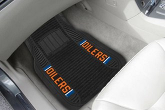 FanMats® - Universal Deluxe Vinyl Car 1st Row Mats (Sports, NHL, Edmonton Oilers)