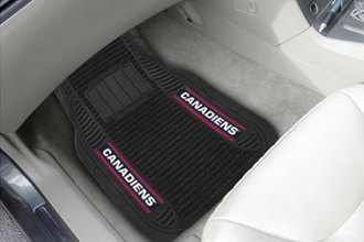 FanMats® - Universal Deluxe Vinyl Car 1st Row Mats (Sports, NHL, Montreal Canadiens)