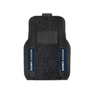 FanMats® - 1st Row Deluxe Vinyl Car Mats with Vancouver Canucks Logo