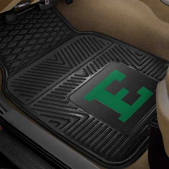 FanMats® - 1st Row Collegiate Heavy Duty Vinyl Car Mats with Eastern Michigan University Logo