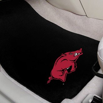 FanMats® - University of Arkansas Logo on Embroidered Floor Mats