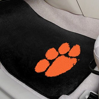 FanMats® - Clemson University Logo on Embroidered Floor Mats