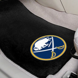 FanMats® - Buffalo Sabres Logo on Embroidered Floor Mats