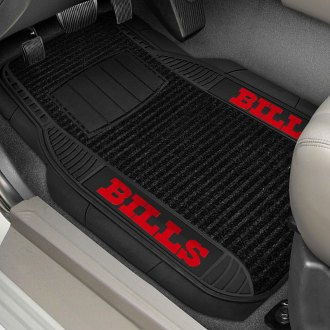 FanMats® - 1st Row Deluxe Vinyl Car Mats with Buffalo Bills Logo