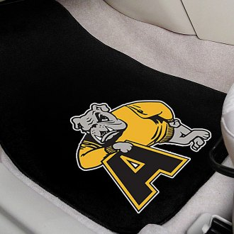 FanMats® - Black Carpet Mats with Adrian College Logo