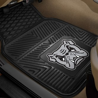 FanMats® - 1st Row Collegiate Heavy Duty Vinyl Car Mats with Adrian College Logo