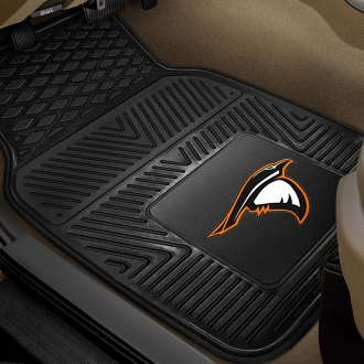 FanMats® - 1st Row Collegiate Heavy Duty Vinyl Car Mats with Anderson University Logo