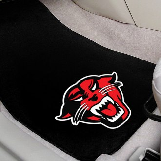 FanMats® - Black Carpet Mats with Davenport University Logo