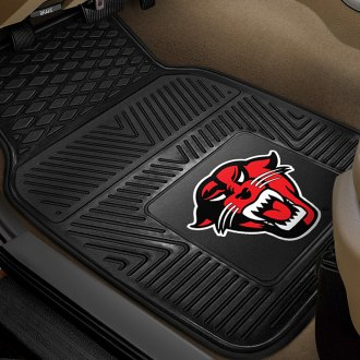 FanMats® - 1st Row Collegiate Heavy Duty Vinyl Car Mats with Davenport University Logo
