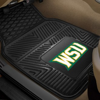 FanMats® - Universal Fit Heavy Duty Vinyl Mats (College, Ohio, Wright State University)
