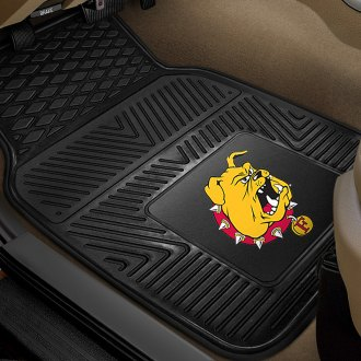 FanMats® - 1st Row Collegiate Heavy Duty Vinyl Car Mats with Ferris State University Logo