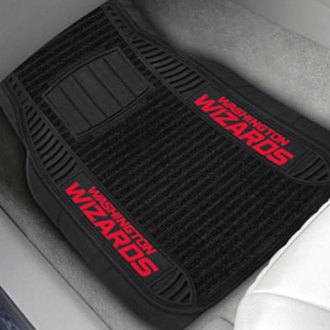 FanMats® - 1st Row Deluxe Vinyl Car Mats with Washington Wizards Logo