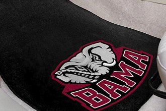 FanMats® 5077 - University of Alabama Secondary Logo on Carpet Car Mats