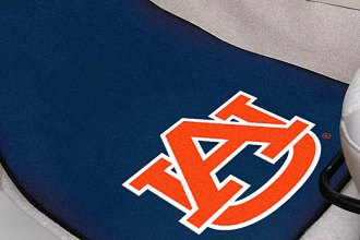 FanMats® 5079 - Auburn University Logo on Carpet Car Mats