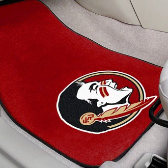 FanMats® - Red Carpet Mats with Florida State University Seminole Logo