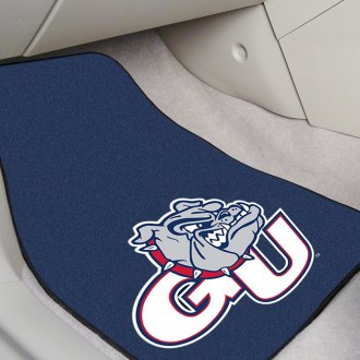 FanMats® - Black Carpet Mats with Gonzaga University Logo