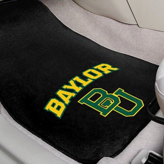 FanMats® - Black Carpet Mats with Baylor University Logo