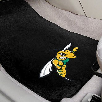FanMats® - Black Carpet Mats with Black Hills State University Logo